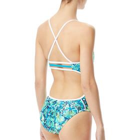 TYR Malibu Traje de Baño Trinityfit Mujer, turquoise